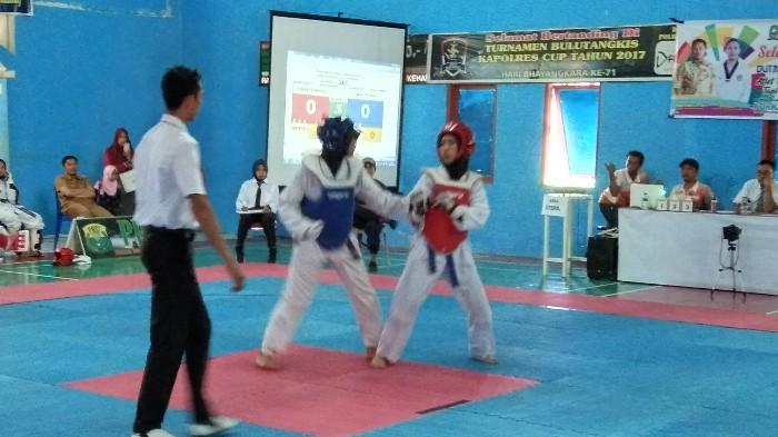 Cabor Taekwondo Siap Jadi yang Terbaik di Porkab IV Sinjai