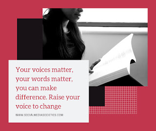 Your Voices and Words Matter