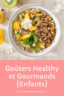 goûters healthy gourmands