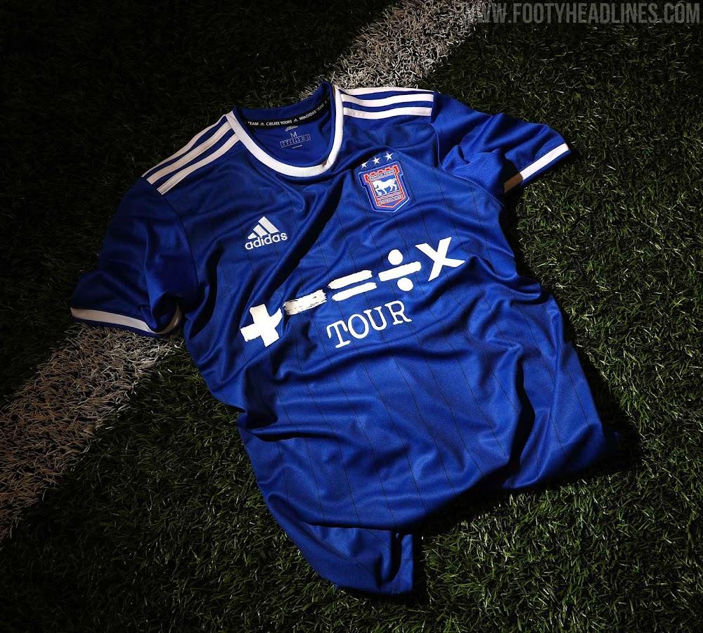 Ipswich Town 21-22 Home Kit Released - Sponsored by Ed Sheeran - Footy  Headlines