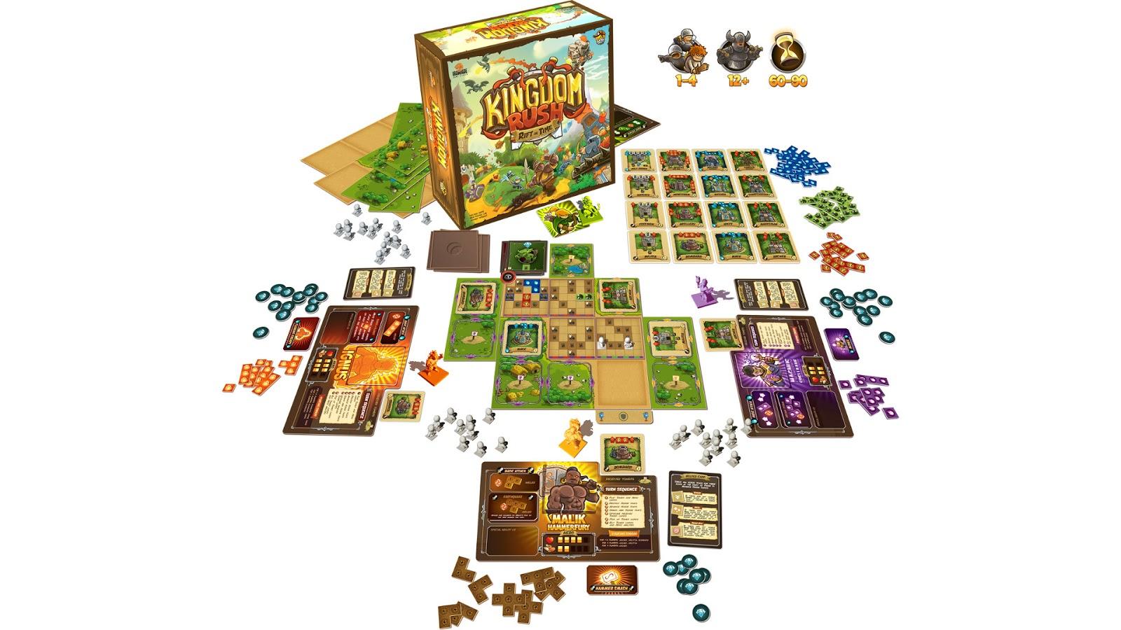 kingdom rush board game kickstarter