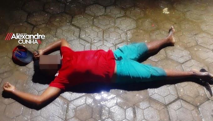 Aginaldo dos Santos; é o nome do Homem assassinado na Praça da Bandeira, em Chapadinha.