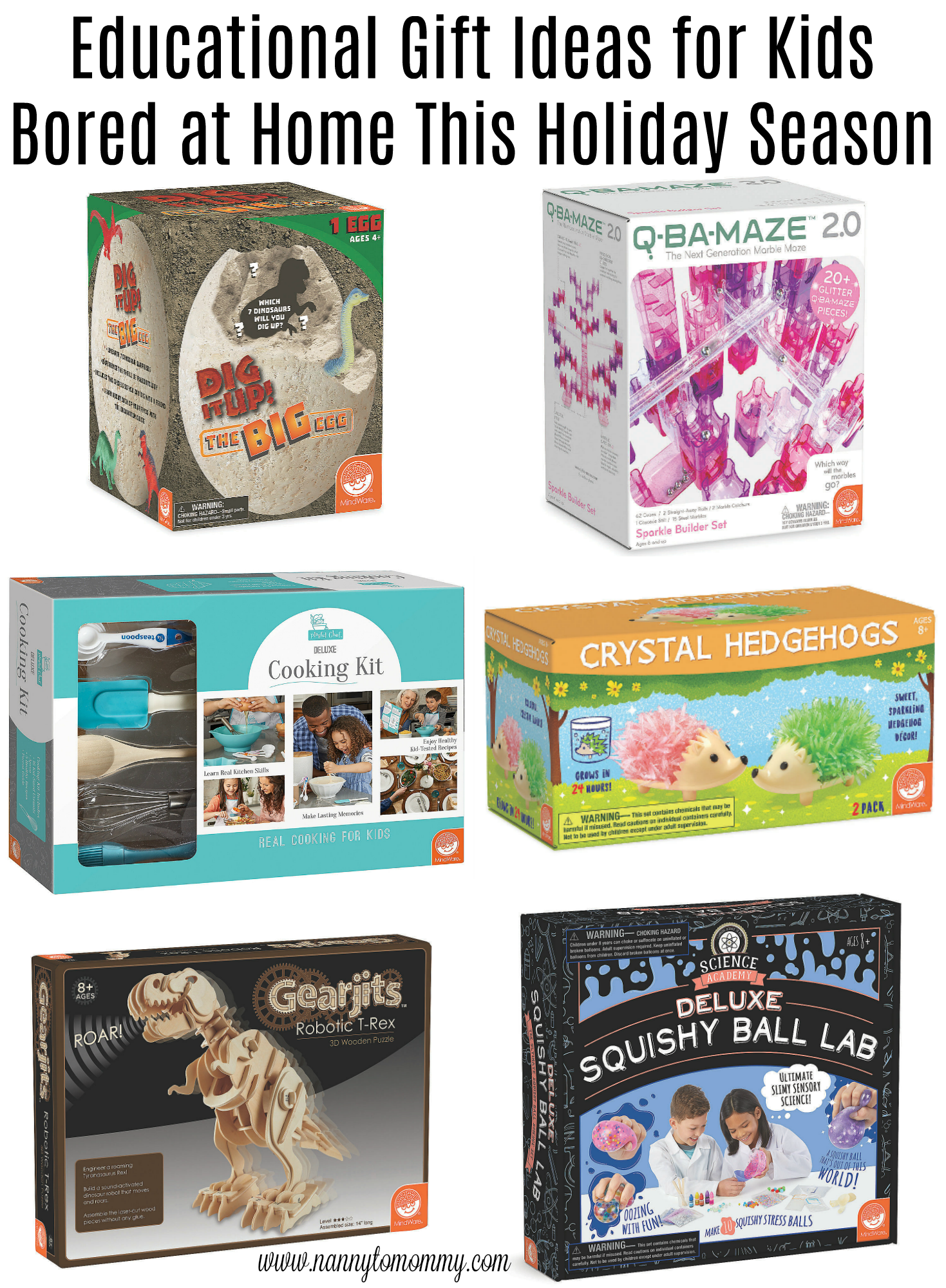 educational gift ideas for kids bored at home