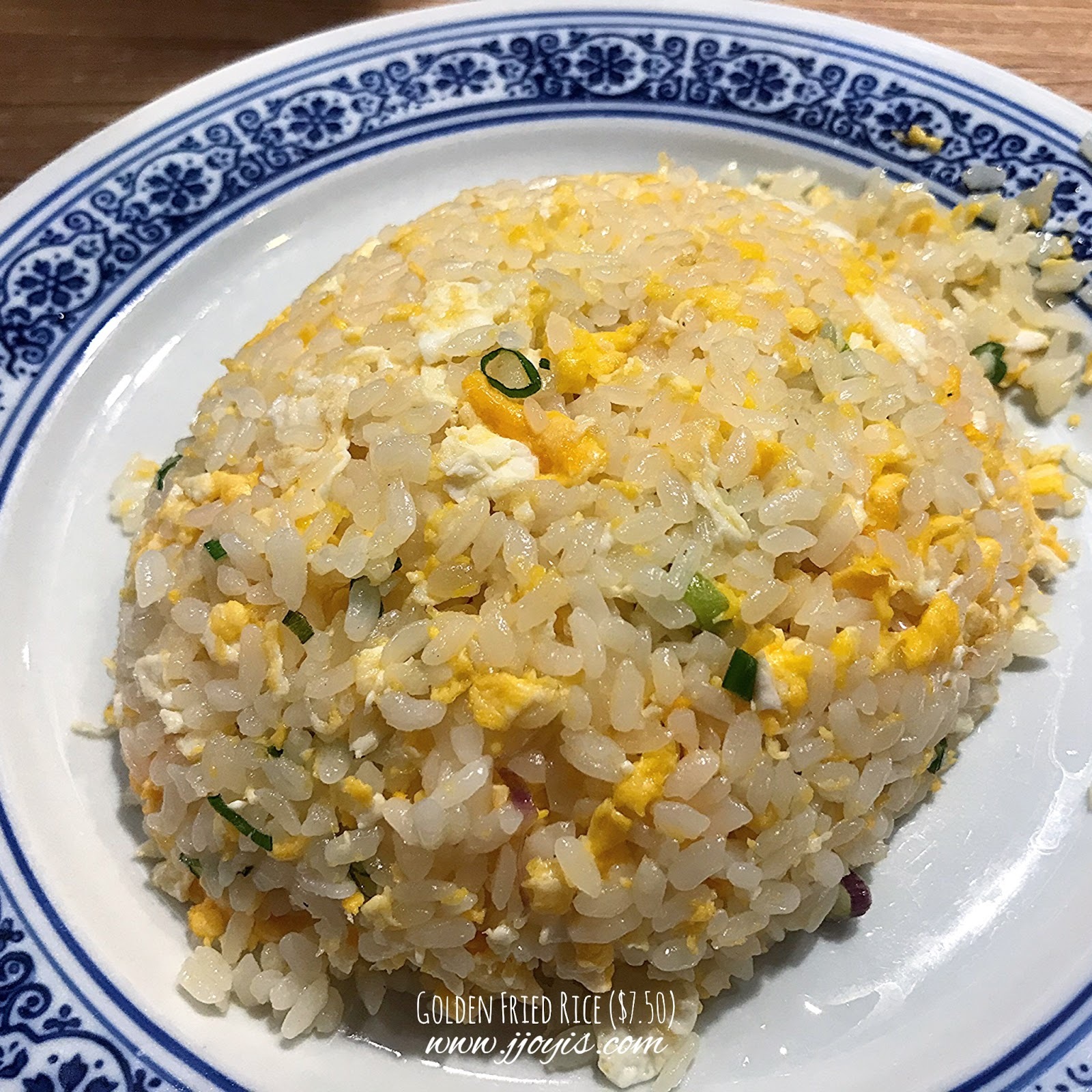 feng food northpoint golden fried rice review