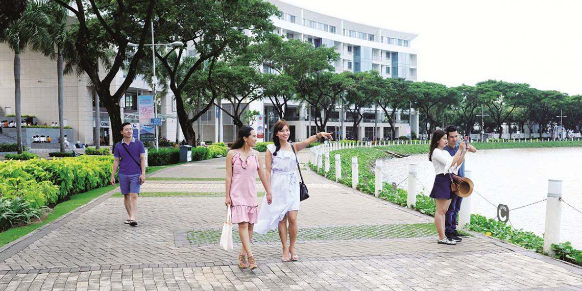 Công viên Ven Sông Phường Tân Hưng, Quận 7