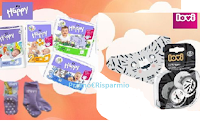 Happy Pannolini : vinci gratis confezioni a tua scelta, calzini antiscivolo e succhietti Salt&Pepper con sciarpina