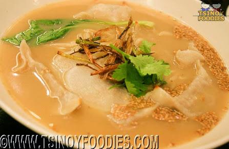 lamb dumpling noodle soup