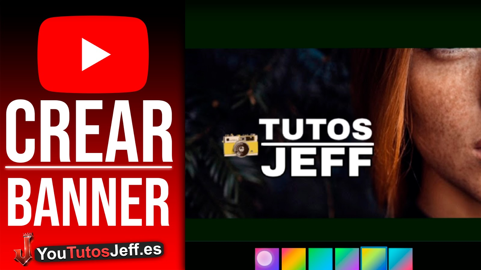 Crear Banner para Youtube desde Android o iOS