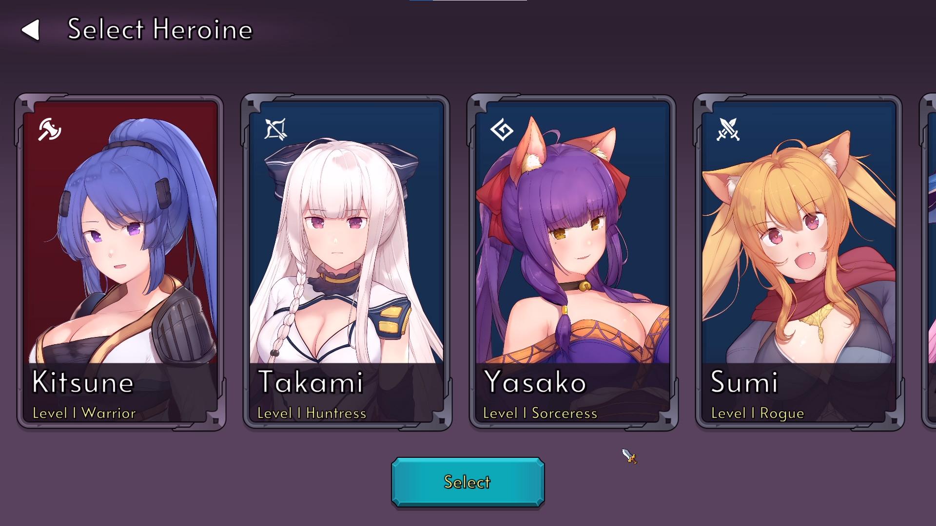 Beautiful Mystic Defenders