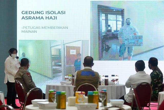 Jalani Karantina di Hotel Asrama Haji 32 Pasien Dipulangkan