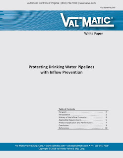 Protecting Drinking Water Pipelines with Inflow Prevention