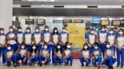 অলিম্পিক গেমসে অংশ নিতে ভারতীয়রা পৌঁছে গেলেন টোকিওতে