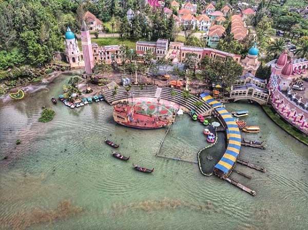 Little Venice Kota Bunga Serasa Berada di Eropa