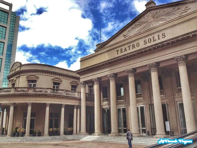 Teatro Solis. Uruguai.