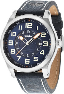 TIMBERLAND Tiden Blue Leather Strap 14644JS/03