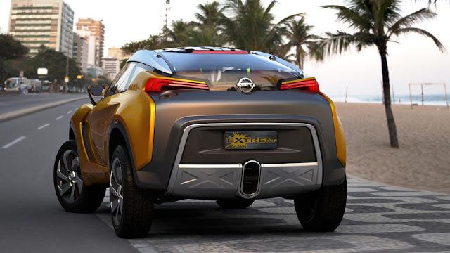 2012 Nissan Extrem Concept Rear Design