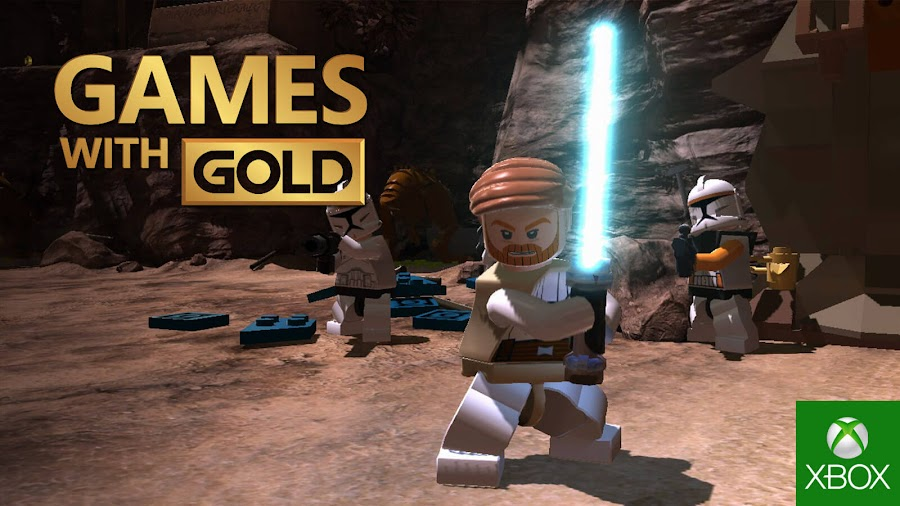 lego star wars the clone wars xbox live gold free game