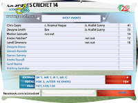 ICC T20 World Cup 2014 Patch Gameplay Screenshot - 15