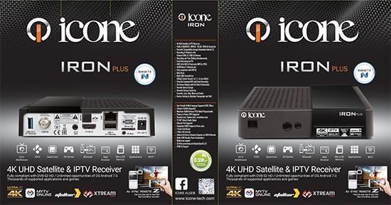 موصفات الجهاز الجديد icone iron plus