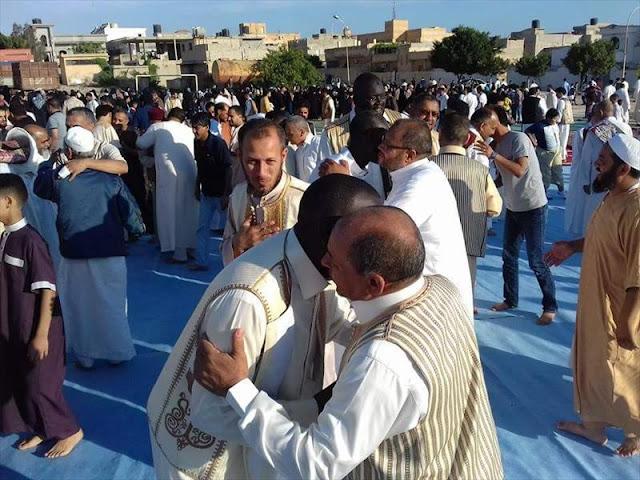 متابعة موعد صلاة اول ايام عيد الفطر في ليبيا 2018 جميع مدن ليبيا