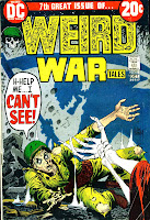 Weird War Tales v1 #7 dc bronze age comic book cover art by Joe Kubert