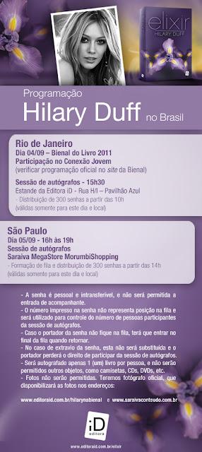 Editora iD libera a programação de Hilary Duff no Brasil 17