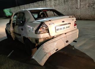 इंदौर में भाजपा नेत्री के बेटे ने कार से 20 लोगों को मारी टक्कर