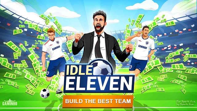 Idle Eleven V1.9.8 MOD APK – PARA HİLELİ