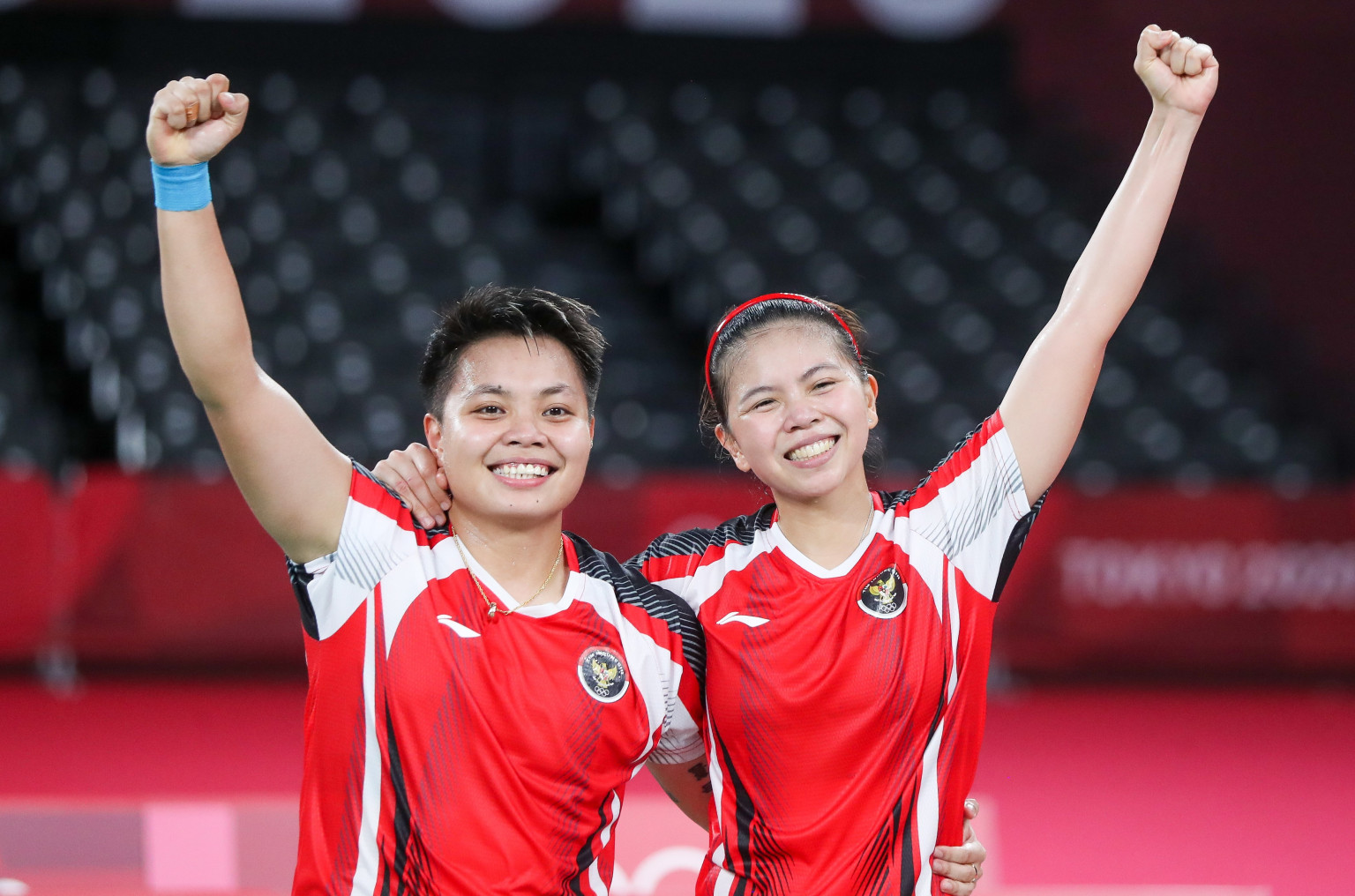 Greysia Polii e Apriyan Rahayu badminton Olimpíadas