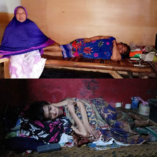 Nenek 70 Tahun di Bekasi Tanggung Beban Ketiga Anaknya Yang Lumpuh