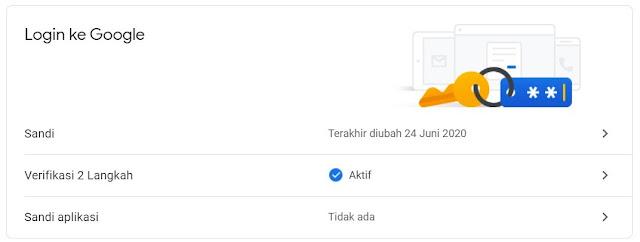 Beberapa Cara Mengamankan Akun Google (Gmail)