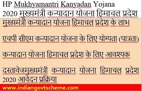 Mukhyamantri+Kanyadan+Yojana