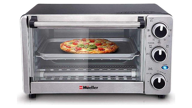 Toaster Oven 4 Slice Multi-function