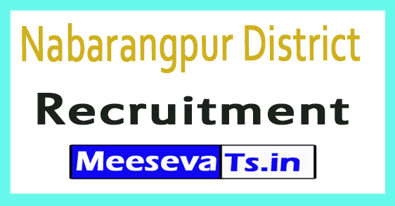 Nabarangpur District Recruitment
