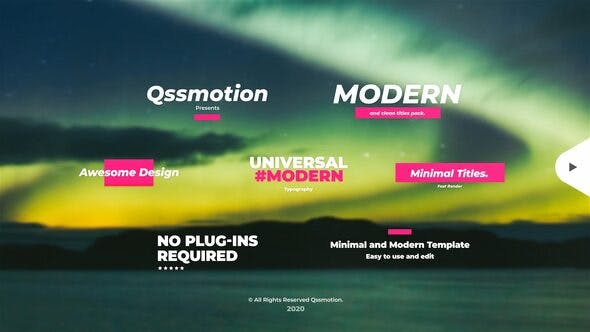 Videohive - Creative and Modern Titles 28678009