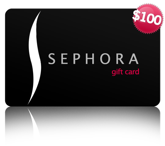Sephora has three questions they'd like you to answer. Follow them on the Kik app and submit your answers to their quiz for a chance to win a $100 Sephora Gift Card!