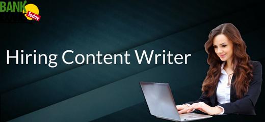Hiring Notification Writer:Apply Now