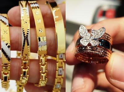 jual beli perhiasan mas di Bogor