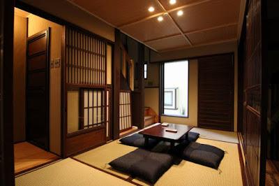 Ruang Tamu Lesehan ala Jepang untuk Rumah Minimalis