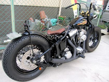 Harley Davidson By Blue Points Motorcycles Custom Shop Hell Kustom