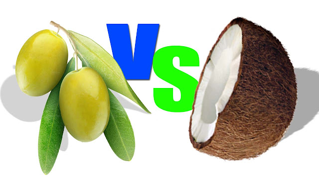 Which of the following is better than coconut and olive oil