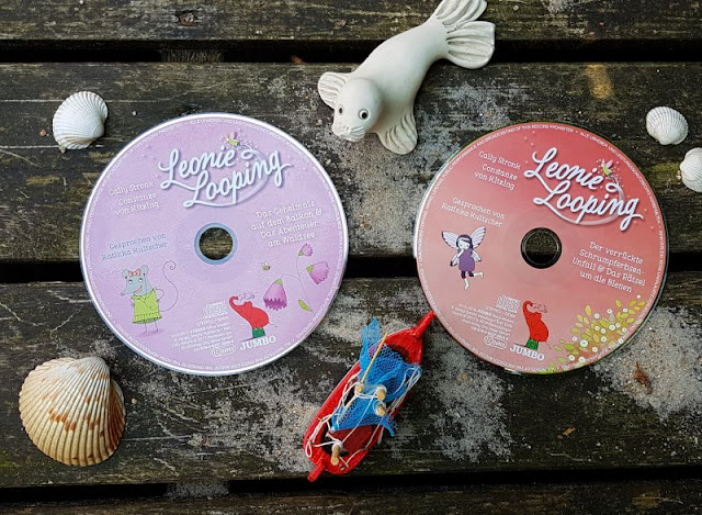 """Heute ein Buch! Die elfenstarke Umwelt-Kinderbuch-Serie """"Leonie Looping"""" und das Thema """"Müll im Meer"""". Als Hörspiel ist die Reihe im Jumbo Verlag erschienen und enthält den Leonie-Looping-Song."""