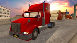 ETS2 International 9400I truck