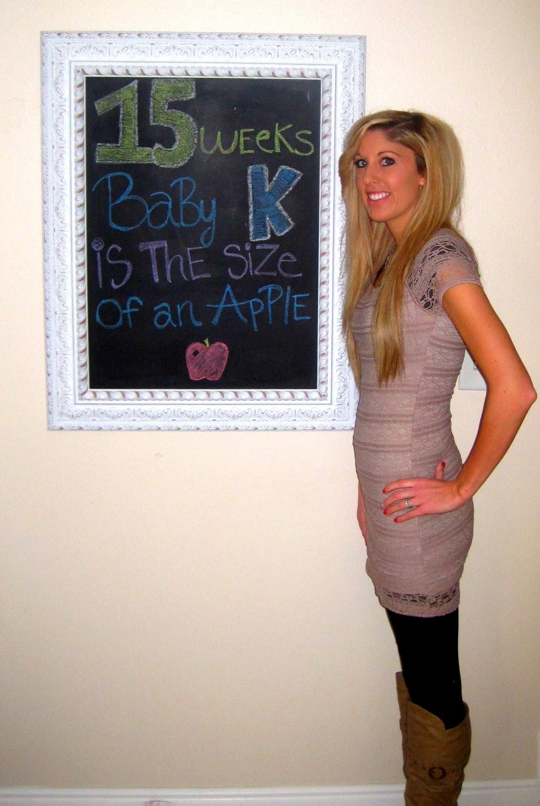 15 Weeks Pregnant!!