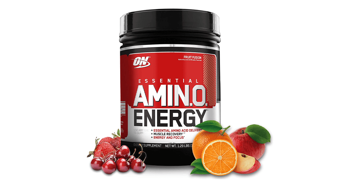 Fitcanal OPTIMUM NUTRITION ESSENTIAL AMINO ENERGY Fruit Fusion Keto Friendly Preworkout