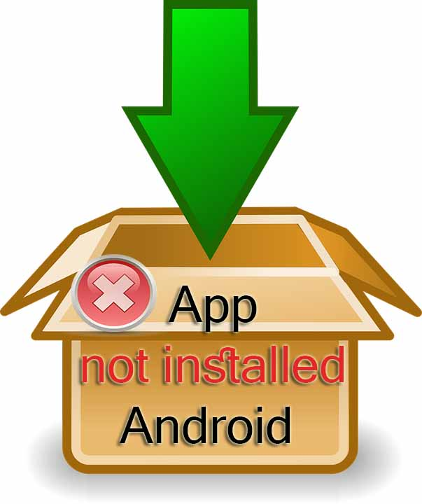 package installer has stopped android