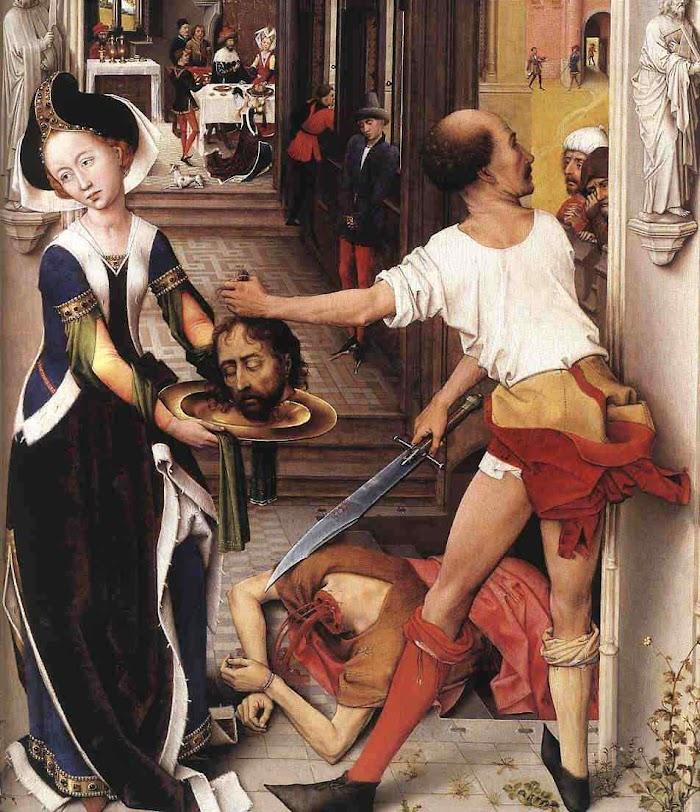Decapitação de São João Batista, Rogier van der Weyden (1400 — 1464)
