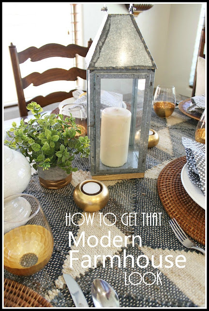 How To Get That Modern Farmhouse Look