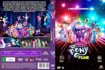 My Little Pony O Filme (My Little Pony - The Movie) DVD Capa