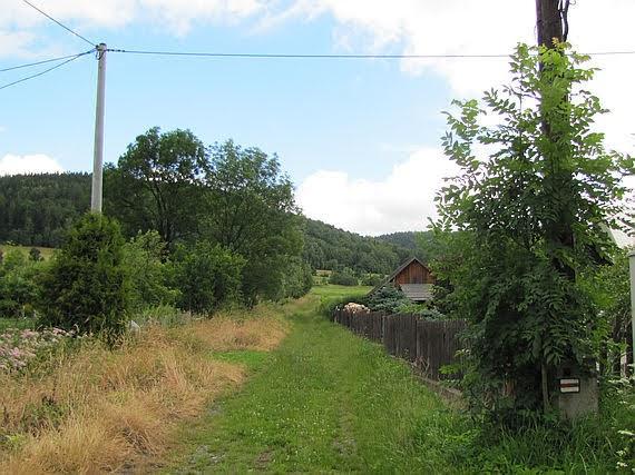 Główny Szlak Sudecki w Szarocinie